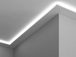 Cornice per led a parete o contorno porta led EL504:  in stile  di Eleni Lighting