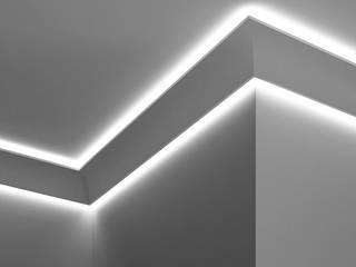 Cornice a doppio taglio di luce diffusa led a soffitto - EL706:  in stile  di Eleni Lighting
