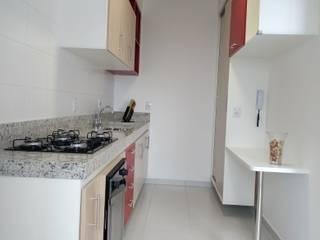 Apartamento D.I. por Daniela Ponsoni Arquitetura