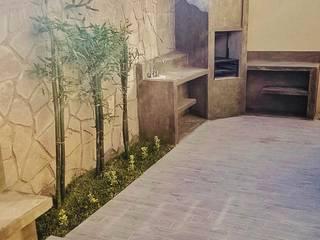Asador: Terrazas de estilo  por Artiphise