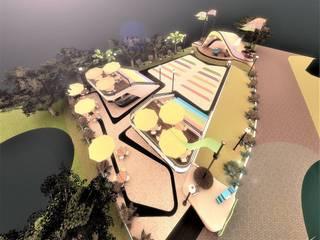 Teatro Sesamo Casas modernas de Kaoz Arquitectos Moderno