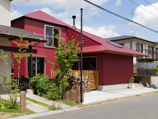 Eclectic style houses by 千田建築設計 Eclectic