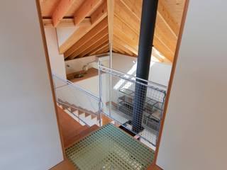 ハウス・カメオ: 千田建築設計が手掛けた階段です。,