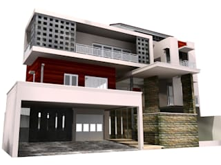 Dwelling house 3 rd Floor, Citra Garden Residential Jakarta Barat:   by PT.  DIAN CIPTA BANGUN