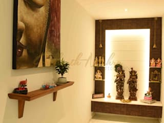 Apartment in TATA Primanti , Sector 72 , Gurgaon Modern style doors by Sidharth Mehra Photography Modern