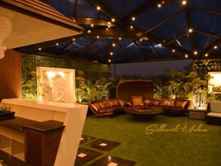 Terrace Garden Bhera Encalve Paschim Vihar by Sidharth Mehra Photography Classic