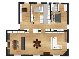 Salas de estilo moderno de DUOLAB Progettazione e sviluppo Moderno