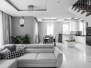 Modern living room by Progetti Architektura Modern