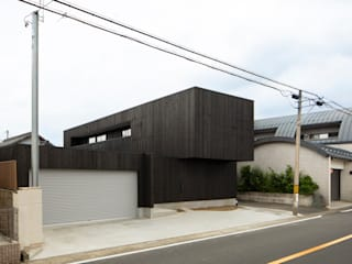 Casas unifamilares de estilo  de 五藤久佳デザインオフィス有限会社, Moderno