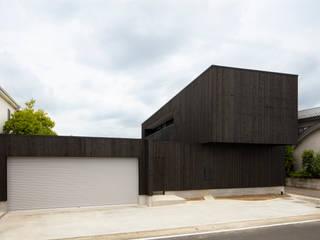 Casas de madera de estilo  de 五藤久佳デザインオフィス有限会社, Moderno