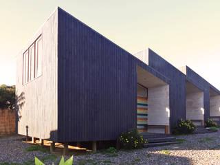 Casas de madera de estilo  por m2 estudio arquitectos - Santiago, Escandinavo