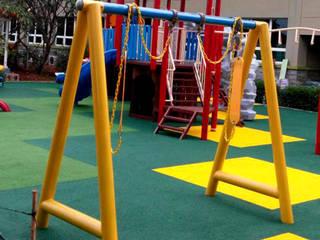 Playground Jakarta International Korea School Sekolah Modern Oleh PT. Datra Internusa Modern