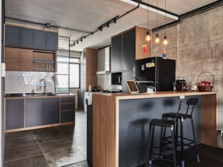 821 Yishun St 81 - Industrial :  Built-in kitchens by VOILÀ Pte Ltd