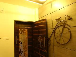 Modern corridor, hallway & stairs by Design chords Modern