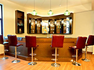 Hospitality Bar Project At GVAI Club QBOID DESIGN HOUSE Modern bars & clubs