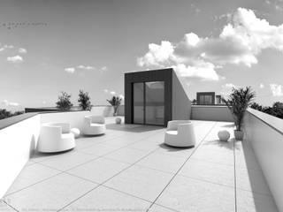 Barbusse - Edificios de habitação com 21 apartamentos por OGGOstudioarchitects, unipessoal lda Minimalista