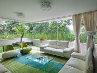 my first house Modern Living Room by SY Lam Modern
