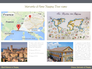 Grasse, Provence_Indelabrial Mood_Intervento Home Staging:  in stile  di Gilardi Interiors on Staging
