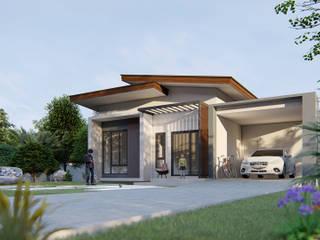 Takuapa125 Casas de estilo moderno