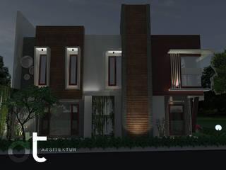 CLUSTER DISCOVERY FLAMINE BINTARO JAYA:modern  oleh Rumah Desain Tropis, Modern