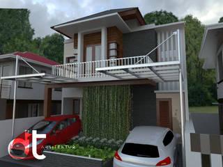 PROJECT CLUSTER VENICE BINTARO JAYA TANGERANG SELATAN: Rumah oleh Rumah Desain Tropis, Modern