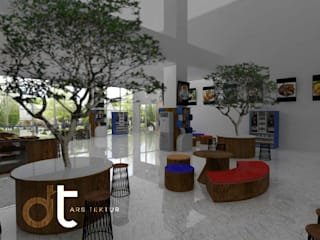 Rumah Desain Tropis Living room