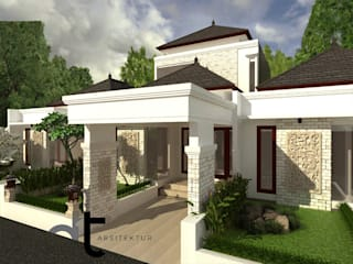 PROJECT JAPOS PONDOK AREN TANGERANG SELATAN:modern  oleh Rumah Desain Tropis, Modern