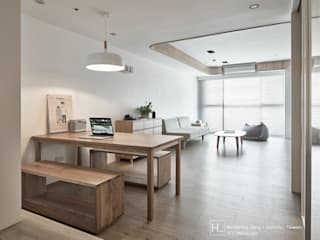 Minimalist dining room by SECONDstudio Minimalist