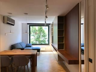 Residencial 4 Salones de estilo moderno de Sambori Design Moderno