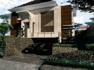 design dan renovasi fasade at fatmawati jakarta selatan Oleh Aray Interindo