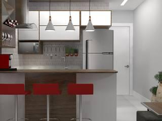 Apartamento conjugado:   por RSN arquitetura