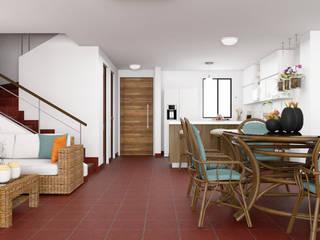Diseño Interior - Casa campo de Qbico Design Rural