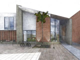 Desde la Cornisa: Casas multifamiliares de estilo  por D+ Arquitectura