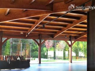 NavarrOlivier Lieux d'événements modernes Bois Effet bois