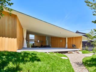 GODO 神戸町の平屋 モダンな庭 の 武藤圭太郎建築設計事務所 モダン