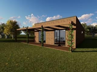 Discovercasa | Casas de Madeira & Modulares Holzhaus Holz Holznachbildung