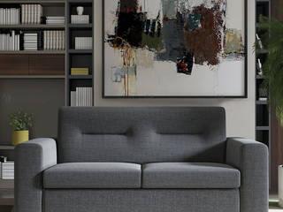 Decordesign Interiores Living roomSofas & armchairs Textile Grey