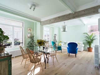 homify Industrial style dining room Wood Green