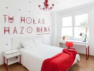 غرفة نوم تنفيذ Imaisdé Design Studio