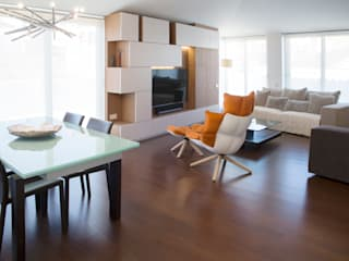 Residencial 1: Salones de estilo  de Sambori Design