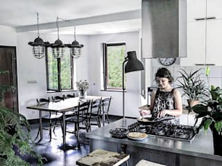 GLOBALO MAX Industrial style kitchen Iron/Steel Metallic/Silver