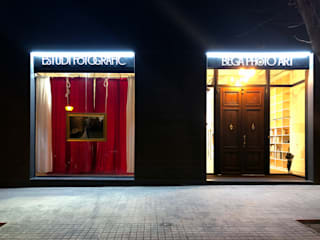 ESTUDIO FOTOGRÁFICO: Oficinas y Tiendas de estilo  de Sambori Design