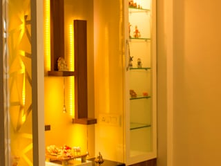 Re modelling  of Living room In Wakad, Pune: minimalist  by YAAMA intart,Minimalist