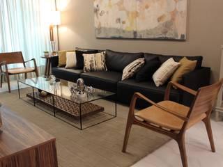 ambiente de estar: Salas de estar  por Geraldo Brognoli Ludwich Arquitetura