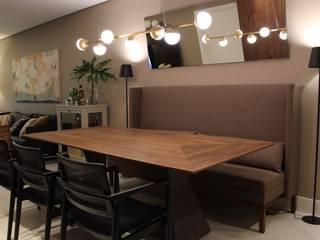 Ambiente do Jantar: Salas de jantar  por Geraldo Brognoli Ludwich Arquitetura