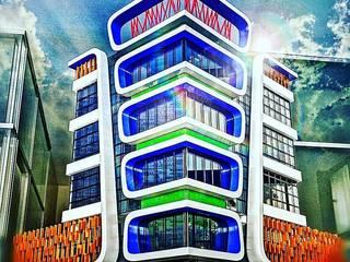 TAHTACI BUSINESSCENTER Modern Evler HAKAN SABAHLAR MİMARLIK &HSA YAPI Modern
