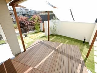 ハードウッドの使い分け@ウリンとバツ材施工 日本家屋・アジアの家 の (株)風知蒼 和風