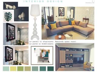 casa FaRo: Soggiorno in stile  di  LAB 360 - Architettura e Design, Moderno