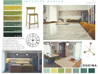 casa FaRo: Cucina attrezzata in stile  di  LAB 360 - Architettura e Design, Moderno