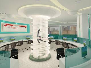 Office Interior Designers in Delhi: classic  by Karma Interiors,Classic